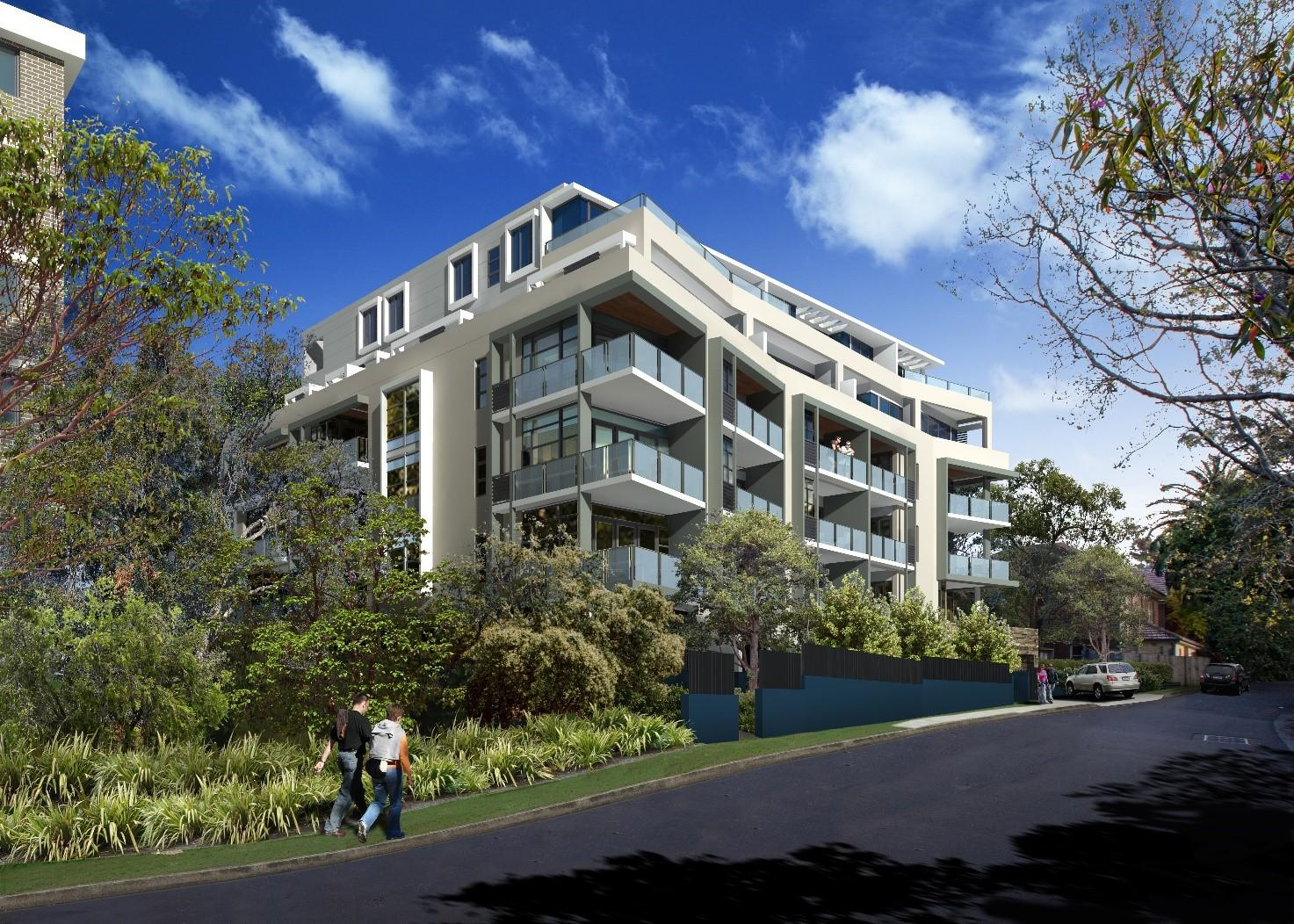Lane Cove Apartments Eci Agreement In Place Construction Profile